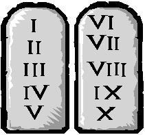 the Ten Commandments The Ten