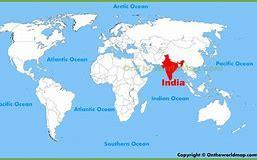 Where is India? India is in the South of Asia.