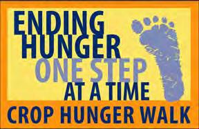 Save The Date - Crop Walk 2017 The 2017 Fulton CROP Hunger Walk will take place on the afternoon of