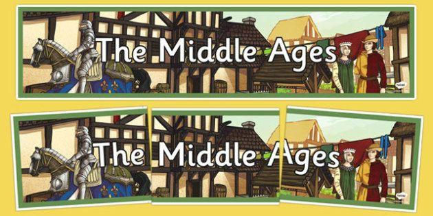 People use the phrase Middle Ages to describe Europe between the fall of Rome in 476 A.D and about the year 1500 A.D. Many scholars call the era the medieval period instead!