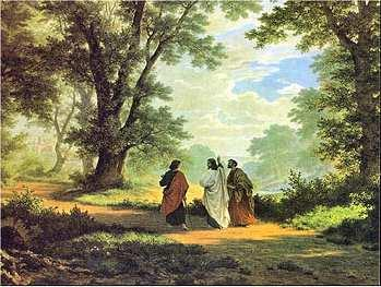 the village of Emmaus. At first they didn t recognize Jesus, as he discussed with them the events they had witnessed. We ll pick up the story in the middle, at Luke 24:25.
