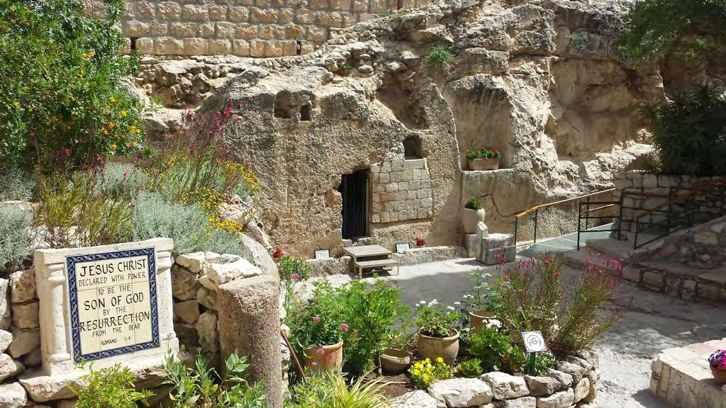 THE GARDEN TOMB 9-Day Biblical Encounter Tour in Israel Led by: Pastor Linn Winters, Josh Barrett, Bill Bush and other local pastors Tour Dates: February 17-25, 2018 Land Only Price $1,945 Per Person