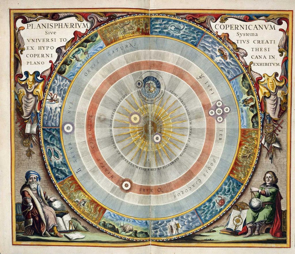 Ironically, Copernicus devoted his work to the Church and the Pope.