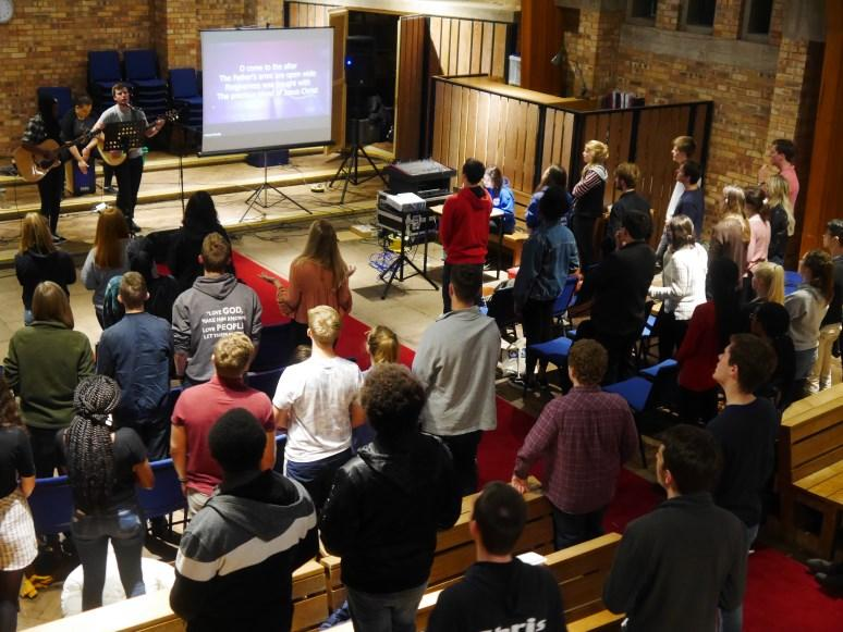 Both congregations attract students, staff and others (nonstudents) from the surrounding community, and the Chapel functions in many ways as a university church as well as a chaplaincy base.