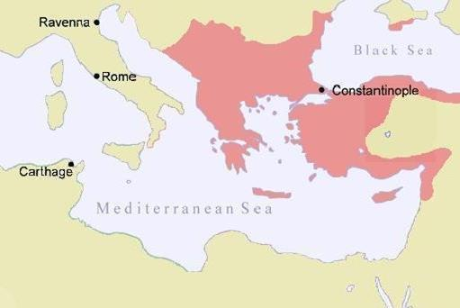 Constantinople was the capital city of the Roman and Byzantine empires.