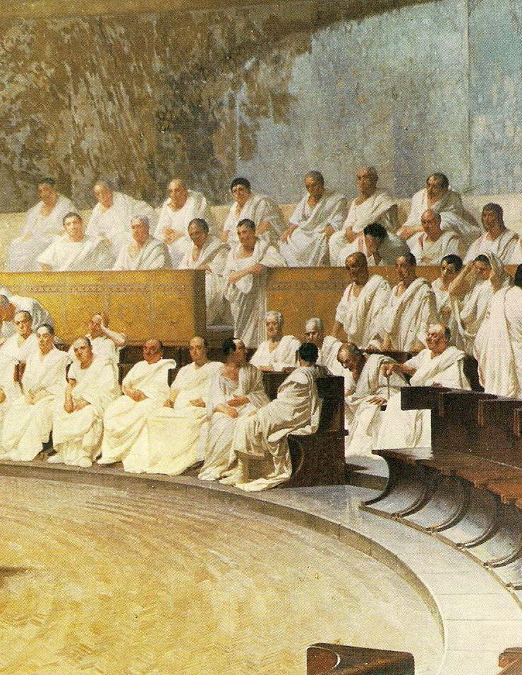 Elected Officials/ System of Checks and Balances Ancient Rome, from its start was ruled by kings.