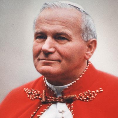 Pope John Paul II- Background Pope John Paul II was born as Karol Józef Wojtyla in Poland He worked with the Catholic church from the 1940 s all the way into the 21st century When he was elected in