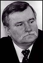 Lech Walesa first leader of the non-communist Poland before Poland was freed, he conducted gatherings of workers to strike against their companies for