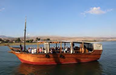 Day 4 Monday, May 27, 2019 AROUND THE SEA OF GALILEE Daily Life and Religion in the Time of Jesus Our day will be spent visiting various sites around the Sea of Galilee as we try to picture daily