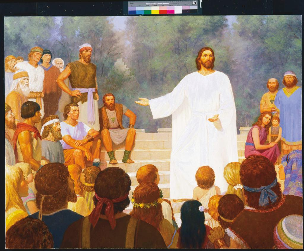 The resurrected Savior s sermon at the temple in the Book of Mormon underscores how His teachings, including the Sermon on the Mount, point us to the making and keeping of covenants as the means of