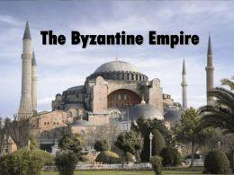 (Centuries = Hundreds of Years) Though Byzantium was ruled by Roman law and Roman political ideas, and its official language was Latin, Greek was also widely spoken, and students received education