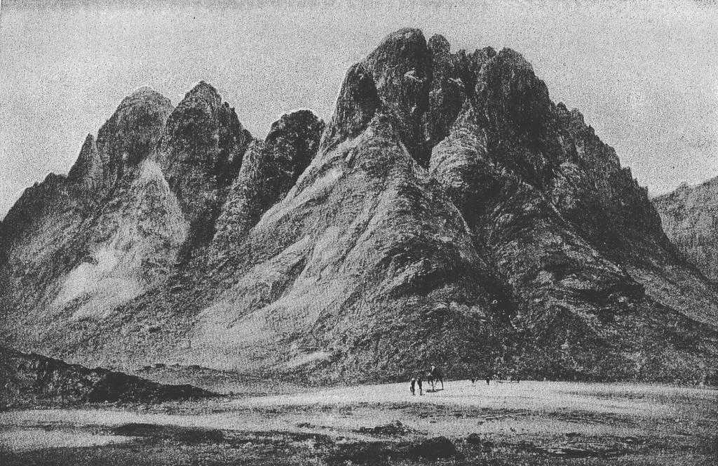 Mount Sinai, photographed ca.