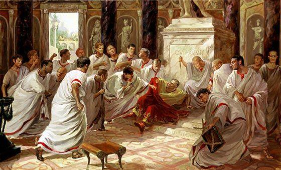 Caesar s Death Many feared that Caesar was becoming to powerful, like a king His enemies stabbed him to death on the