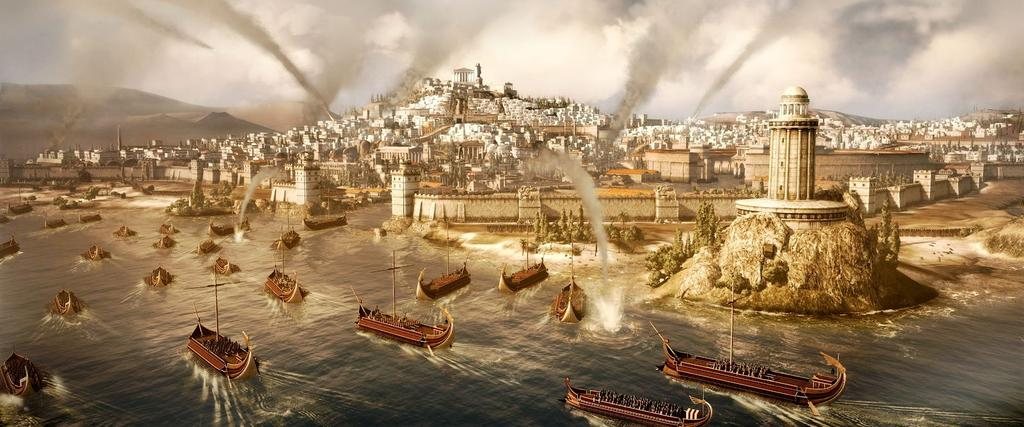 The Punic Wars Rome won all of Carthage s lands outside of Africa, paid a huge tax to Rome, giving Rome control of the