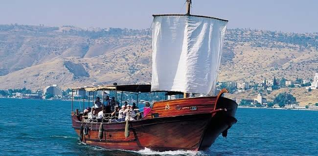 Tour the Ancient Ruins of Caesarea Cruise on the Sea of Galilee Mt.