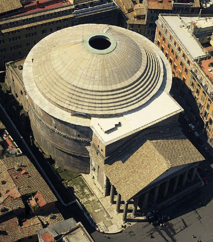 This type of dome was invented by the Romans but was rarely used by them.