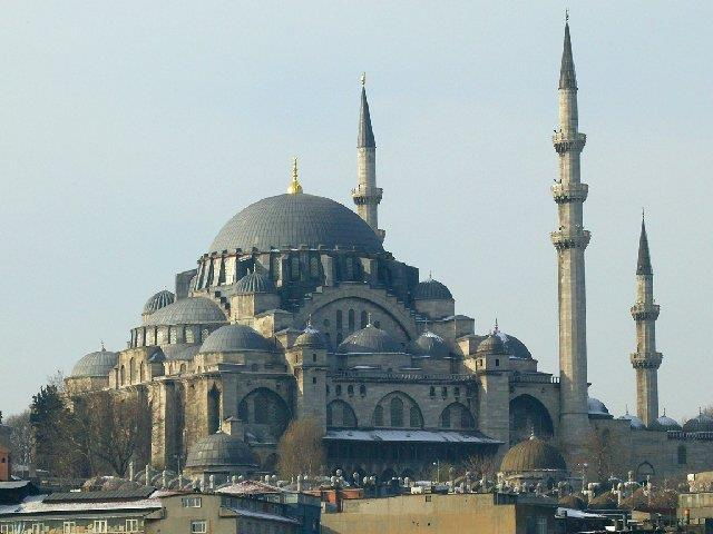 Hagia Sophia served as model for many of the great Ottoman mosques of