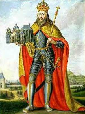 Charlemagne The grandson of Charles Martel Became king of the Franks in 768 He built an empire reaching