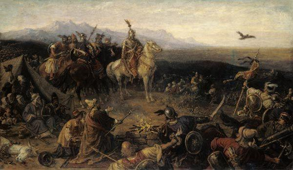 The Magyars About 900 the Magyars overran Eastern Europe and attacked the Byzantine empire They moved on to
