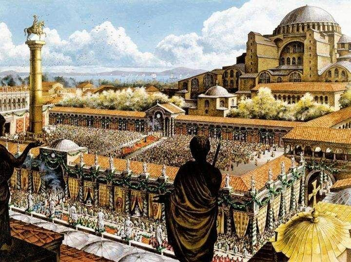 The Byzantine Empire Thrives Constantine and his successors shifted their base to the eastern Mediterranean Constantine rebuilt
