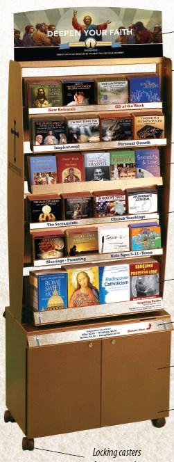 PARISH NEWS LIGHTHOUSE CATHOLIC MEDIA A Kiosk in the Parish Center is available with Inspirational Catholic books, CDs & Booklets. Pamphlet -$1.50, Flyer.50, CD $3.00 Book $4.