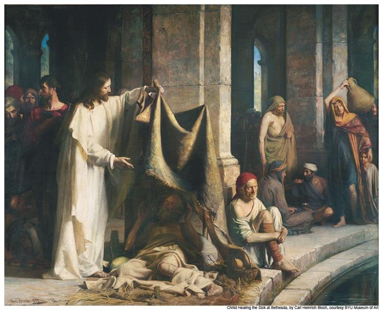 The Healing of the Ten Lepers 10 Lepers were healed but only one, a Samaritan, returned to give Jesus thanks (Luke 17:14-16)