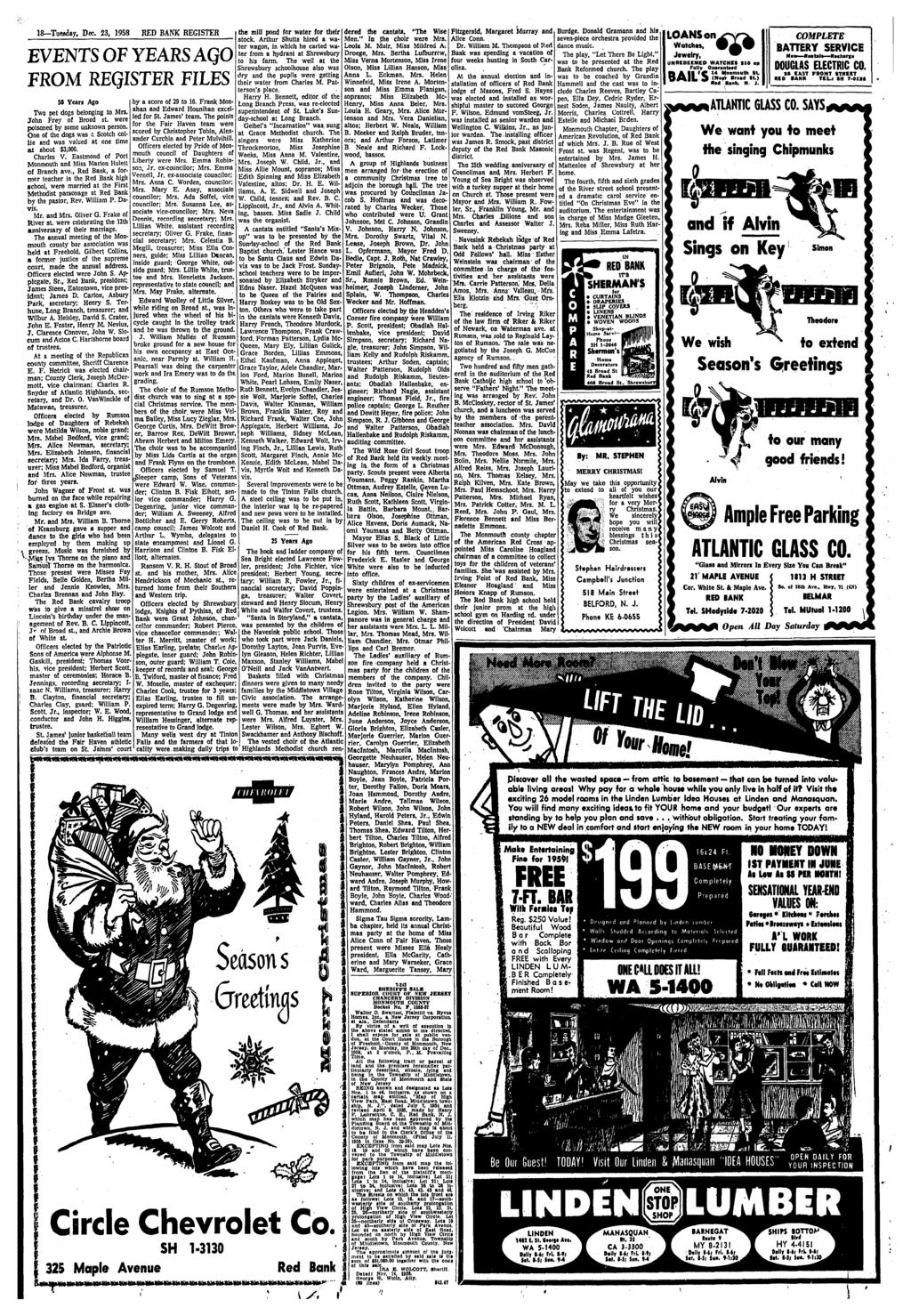 Red Bank Register Iceboating On The River Two From Servo Extension Cord Snaps Wiring Chuck Plug Holder Alex Nld 18 Tuwday Dec 23 1958 Events Of Years Aqo