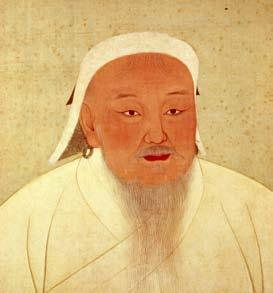 Genghis Khan Genghis Khan and later Mongol rulers conquered a huge area, which became known as the Mongol Empire.