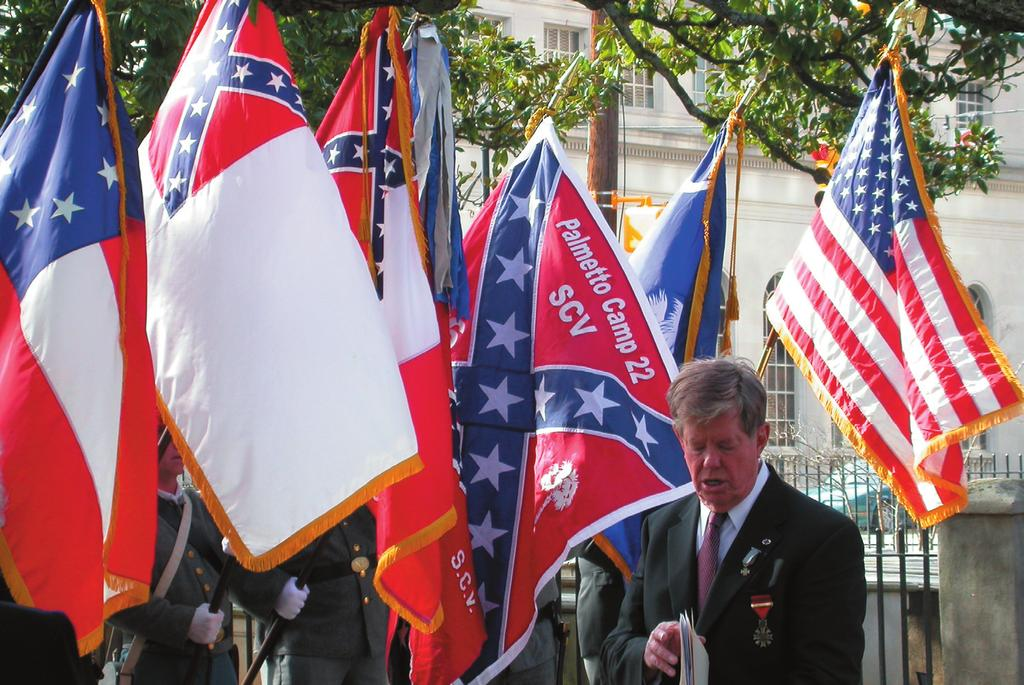 What I Believe the Confederate Flag Stands for Today I By Tommy Rollings have been asked in the past, when we salute the Confederate flag, why we say we salute it with undying devotion to the cause