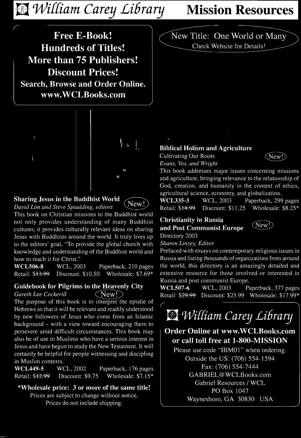 Nternatlona etln issionary research doctoral dissertations on 69 guidebook for pilgrims to the heavenly city gareth lee cockerill cbewd the purpose of fandeluxe Gallery