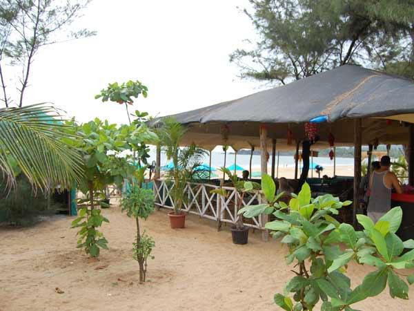 Its craggy beach is perfect for those who want to be in touch with pure
