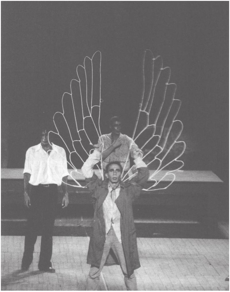 The world e ncyclopedia of c ontemporary t heatre the arab world v egypt icarus choreographed by walid aouni for the egyptian modern dance theatre company 1993 fandeluxe Choice Image