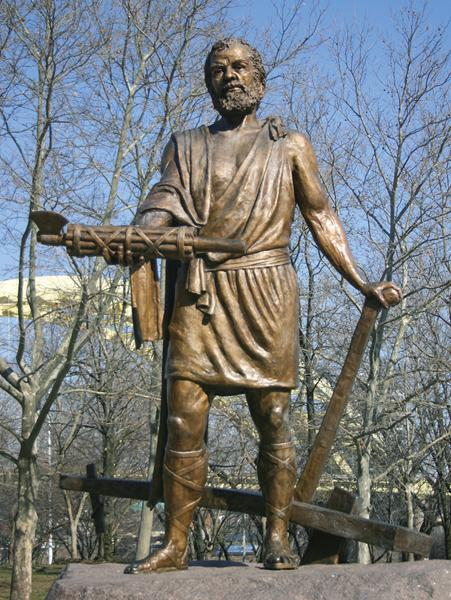 Rick A Dikeman In 458 B.C.E., the Roman Senate made Lucius Quintius Cincinnatus dictator, or supreme ruler, to lead the defense of the city during an attack.
