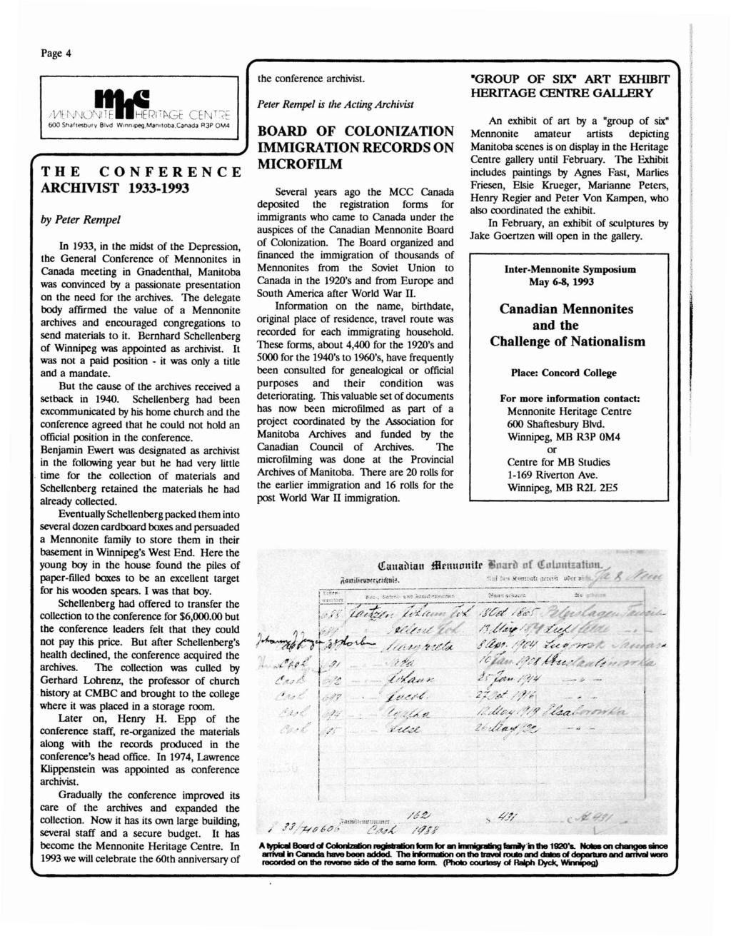 Mennonite historian jacob denners life and writings pdf page 4 the conference archivist 1933 1993 by peter rempel in 1933 in the fandeluxe Choice Image