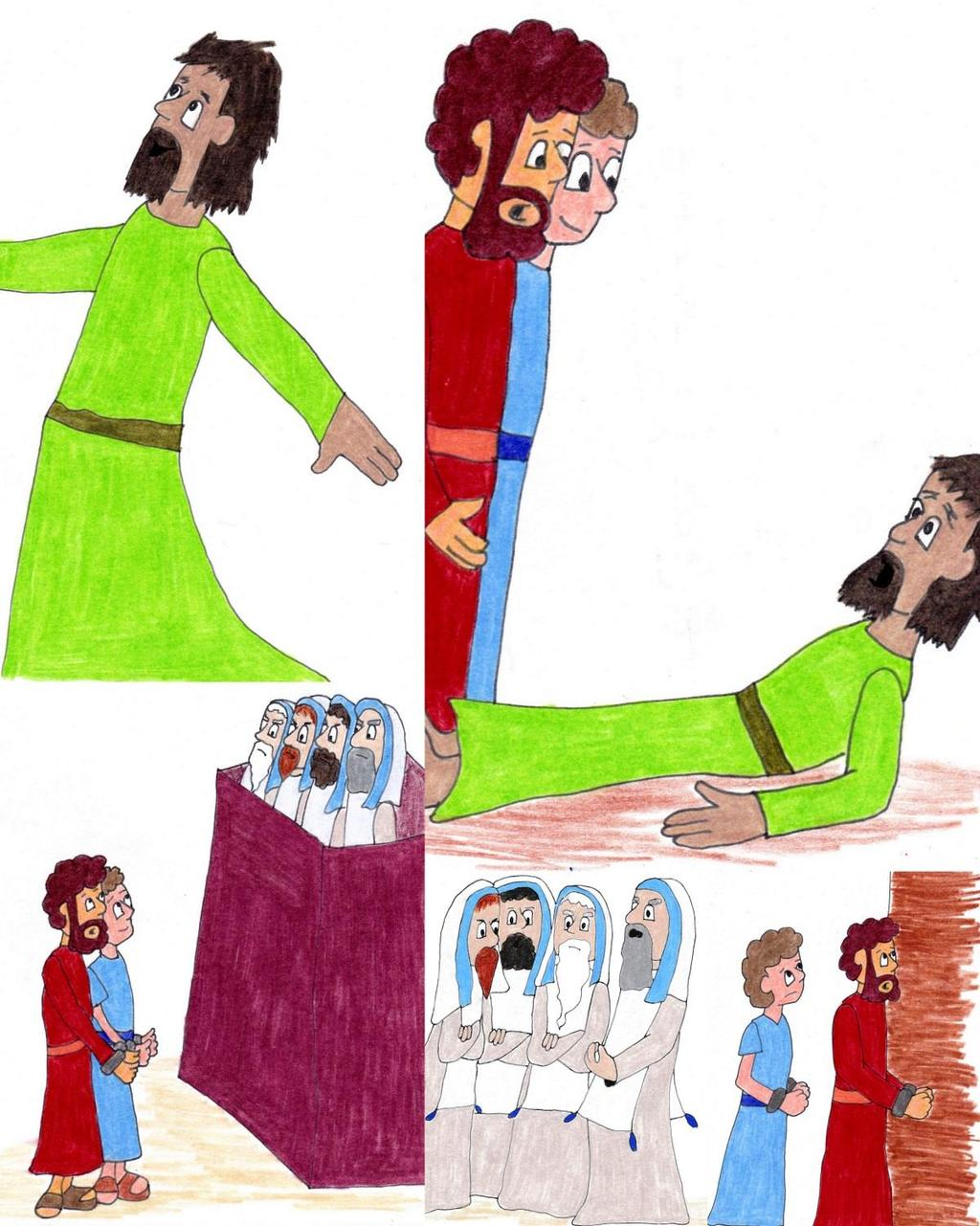 Peter And John In Trouble Acts 31 431