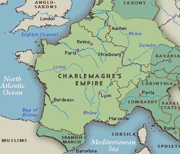 Charles Martel Known as The Hammer Expanded the Frankish Empire Became a Christian hero when he defeats the Moors at the Battle of Tours in 732 Pepin III Charles Martel s son known as The Short