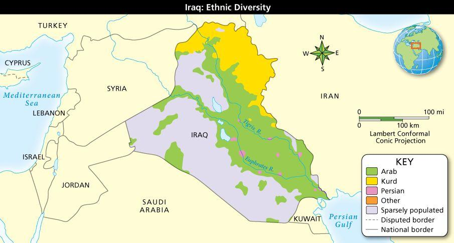 Arabia and Iraq in Modern Times Make Generalizations: What