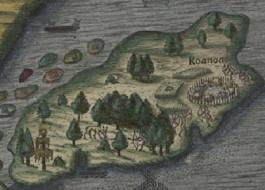 Roanoke, Virginia 1585 and 1587 100 men attempted to settle in 1595.