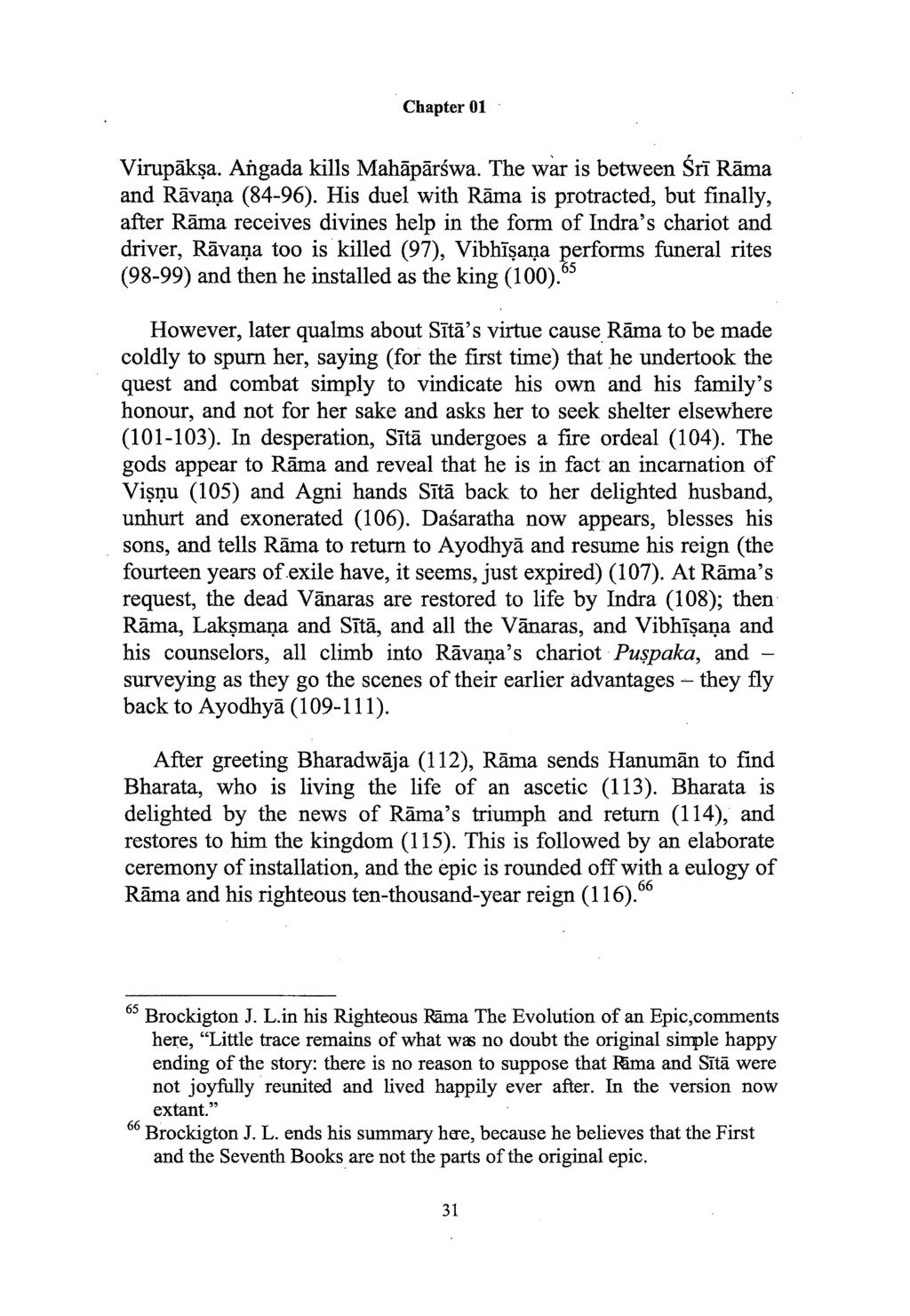 Chapter 01 ramayana in sanskrit literature a brief survey pp the wa is between si rama and ravana 84 fandeluxe Image collections