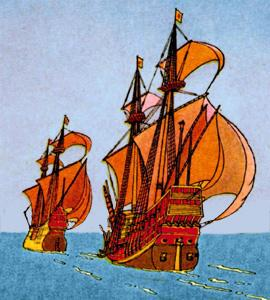 Defeat of the Spanish Armada In 1588 King Philip of Spain assembled the powerful Spanish Armada and attacked England.