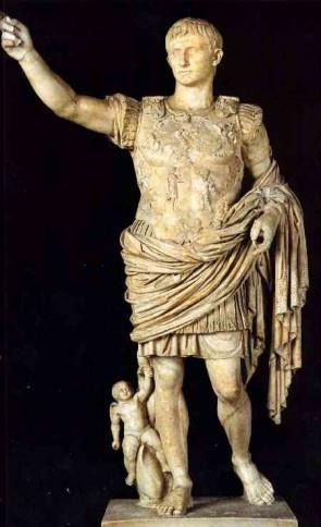 The Pax Romana Octavian was later re -named Caesar Augustus which means The Exalted One and became the first true Emperor of Rome