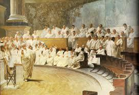 In the early republic, a group called the senate dominated the government. Its members were called patricians.