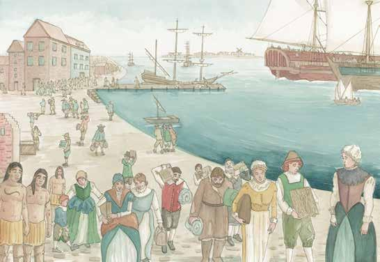 Even though it was not easy to live in the colonies, many people believed they would have a better life. Colonists came for religious reasons, too.
