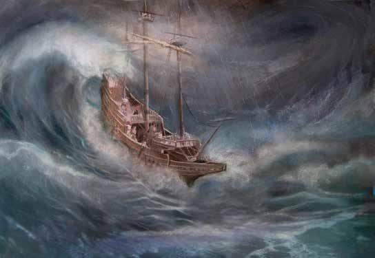 Saved by a Shipwreck At about the same time John Smith was sailing back to England, another Englishman, named John Rolfe, was on his way to Virginia.