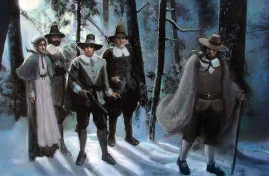 The Puritans Disagree The Puritans decided to send Roger Williams back to England. It was almost winter, and he was sick.