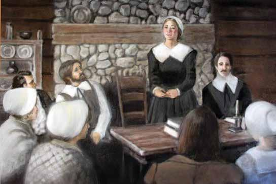 Puritan leaders did not like that Anne Hutchinson disagreed with them. A Successful Colony As the number of towns in Rhode Island grew, the people wanted to have their own official colony.