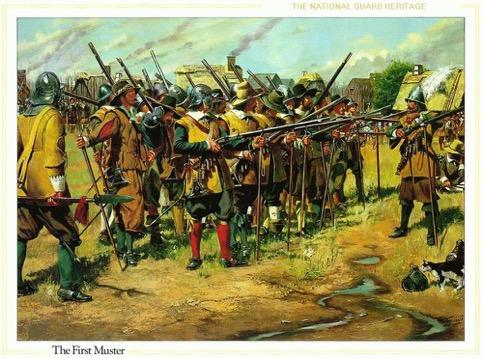 Militia Defense, 1637 Organized a militia in 1637 to protect colony from Indian attacks Required males from