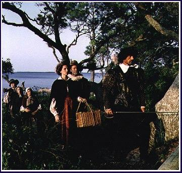 The Lost Colony John White returned in August 1590 to find no colonists on Roanoke Island (left for supplies) On one of the