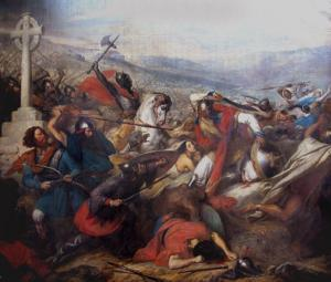 Charles Martel Defeated the Muslims at the Battle of