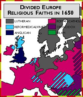 of Rebellion introduced by both Jesuits and Calvinists Pope s power increased
